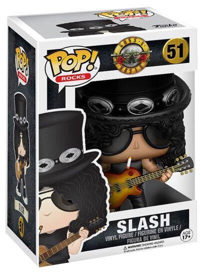 Image of   Guns N' Roses GN'R Slash Rocks Vinyl Figure 51 Samlefigur Standard