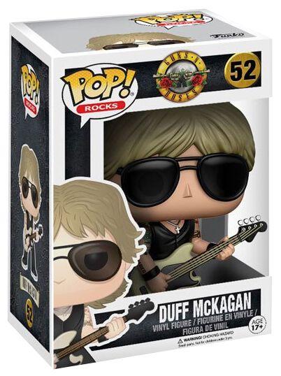 Image of   Guns N' Roses GN'R Duff McKagan Rocks Vinyl Figure 52 Samlefigur Standard
