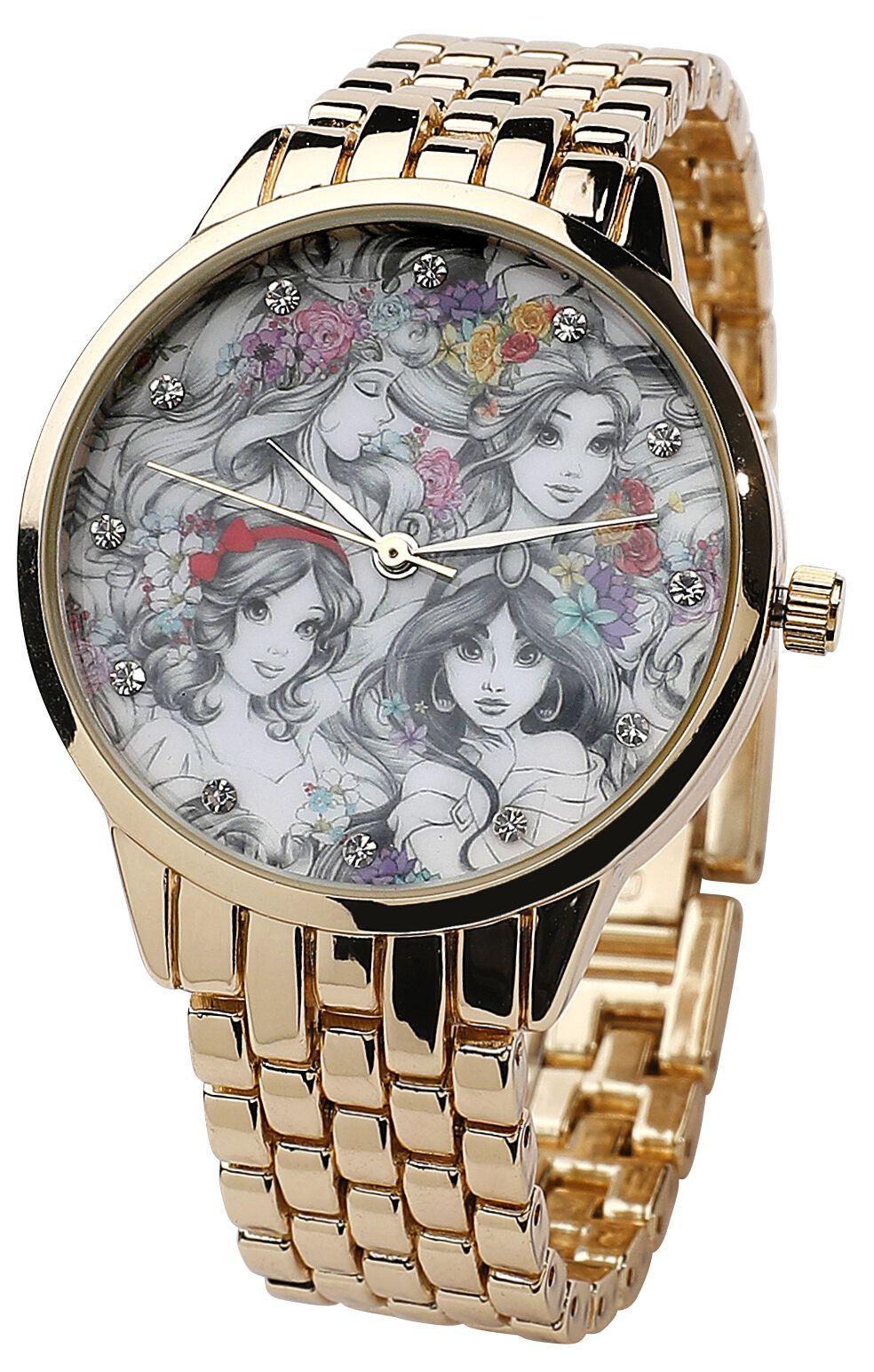 Uhren für Frauen - Disney Princess Armbanduhr goldfarben  - Onlineshop EMP