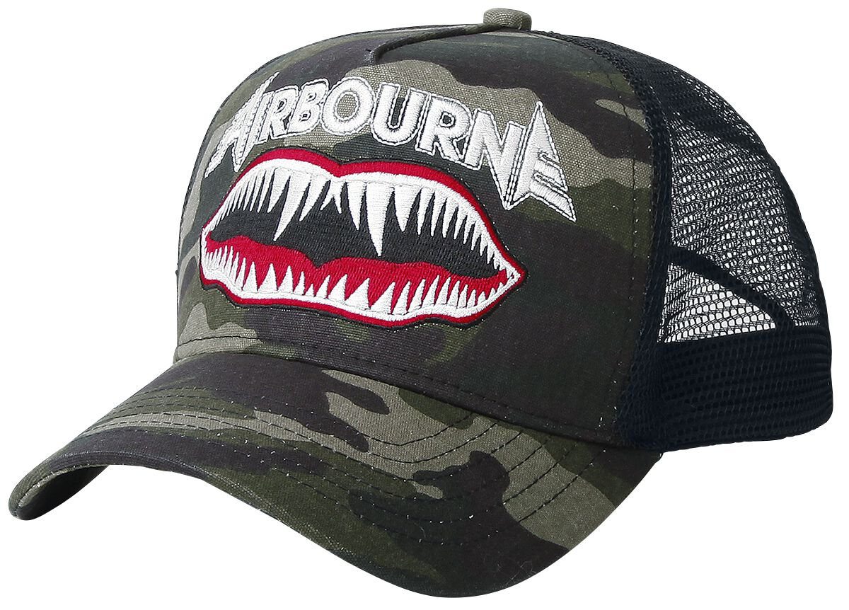 Airbourne Fighter Decals Camo Truckercap Camouf...