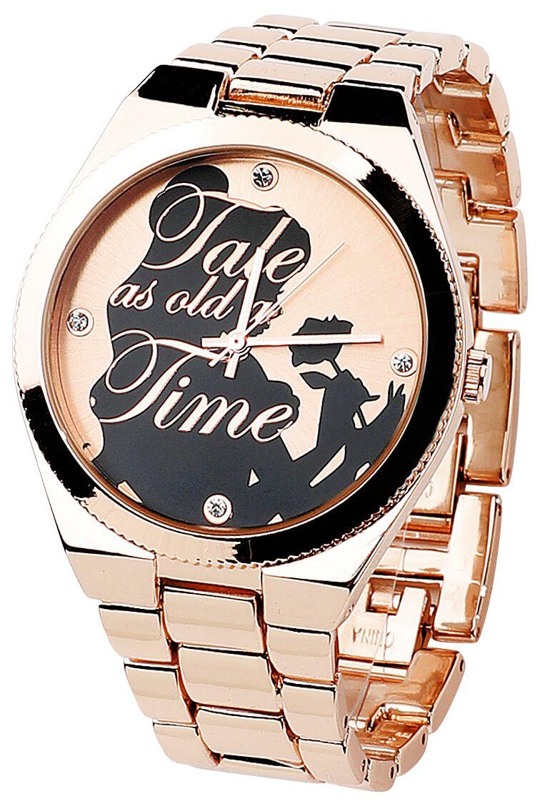Uhren für Frauen - Die Schöne und das Biest Tale As Old As Time Armbanduhr goldfarben  - Onlineshop EMP