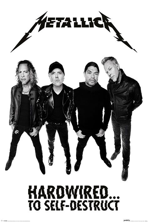 Image of   Metallica Hardwired...to self-destruct (Band) Plakat standard