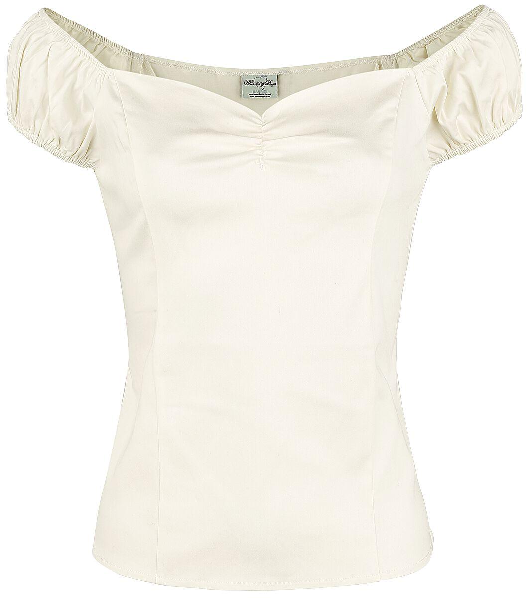 Image of   Banned Winnie Top Girlie trøje hvid