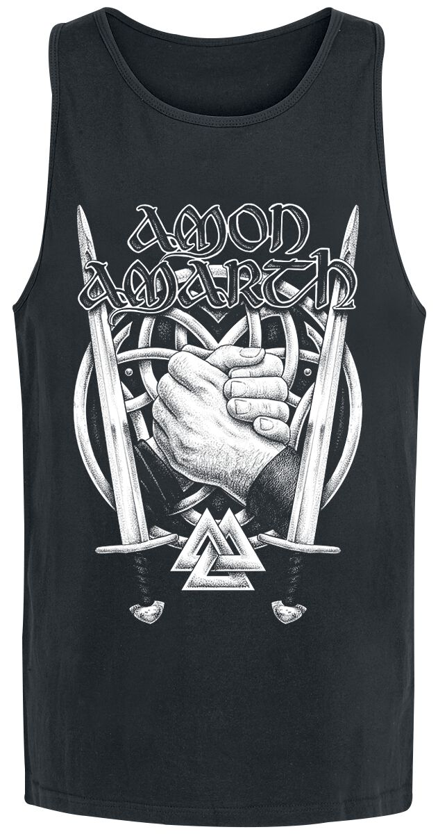 Image of   Amon Amarth Hands Tanktop sort