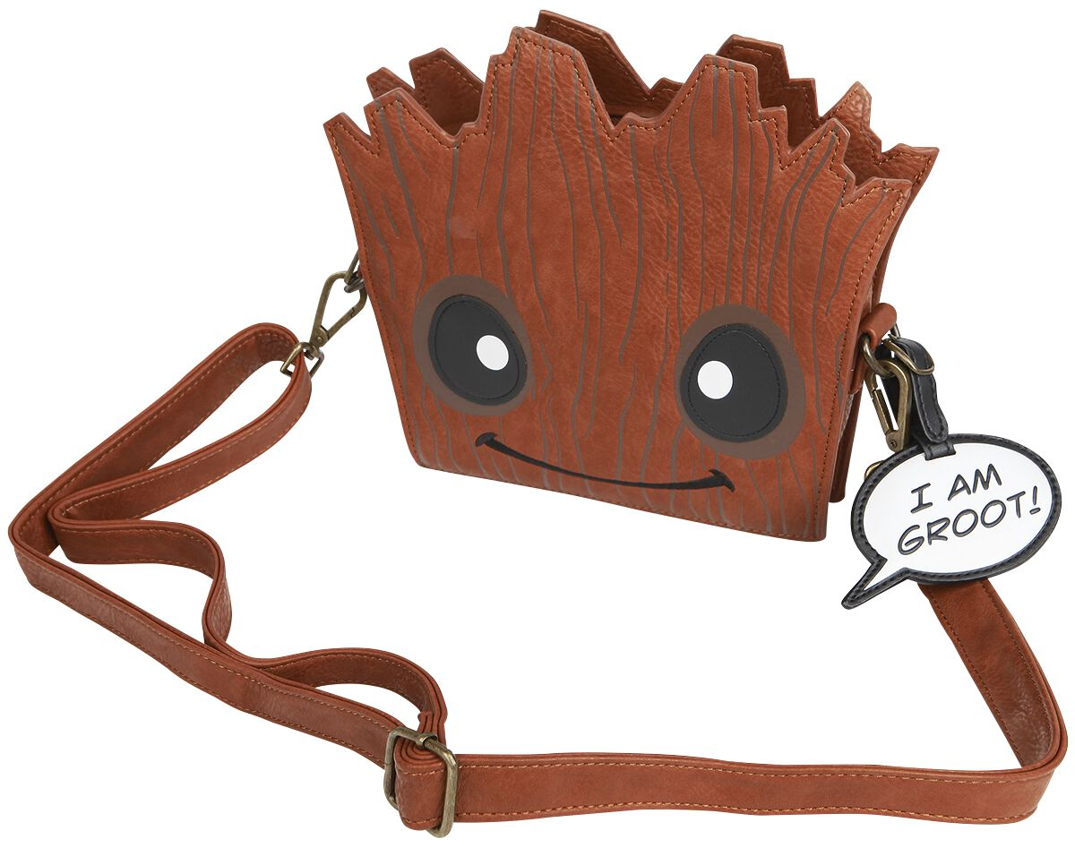 Image of   Guardians Of The Galaxy Loungefly - Groot Håndtaske brun