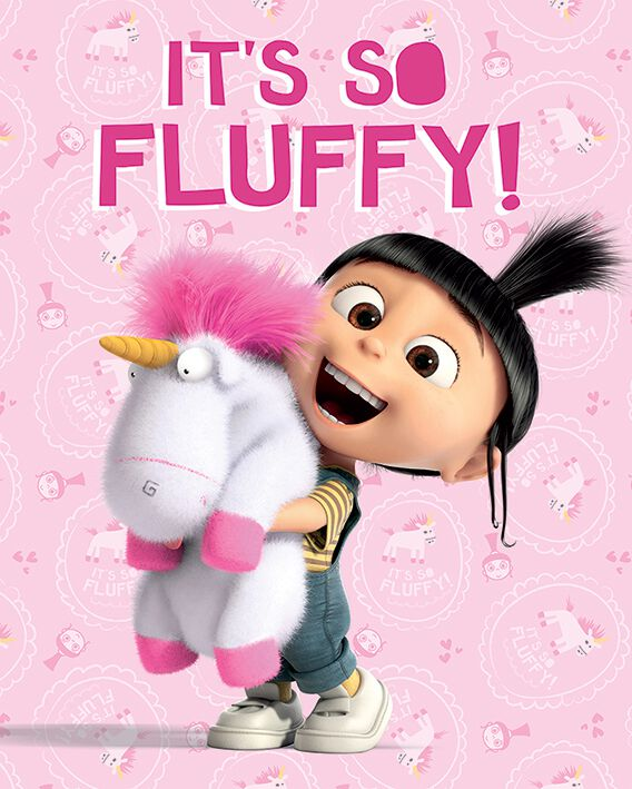 Image of   Minions Minions - It's so fluffy! Plakat Standard