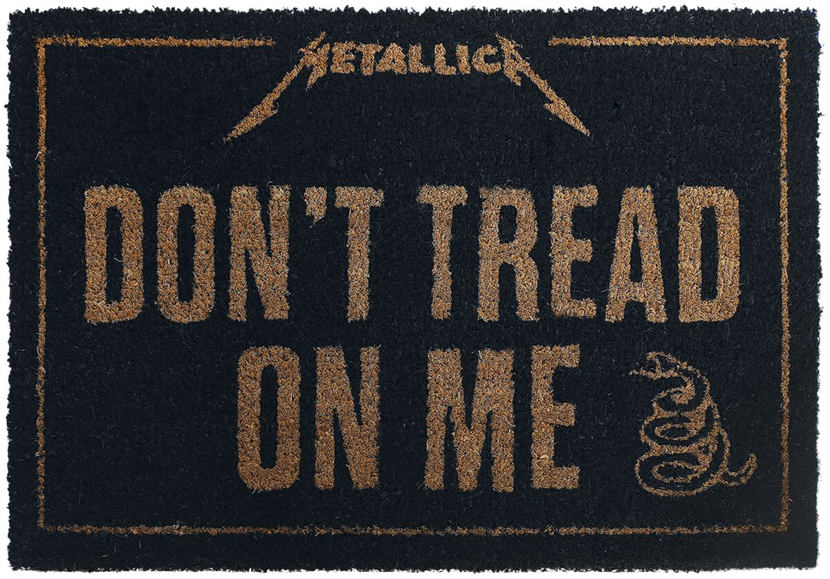 Image of   Metallica Don't Tread On Me Dørmåtte Standard