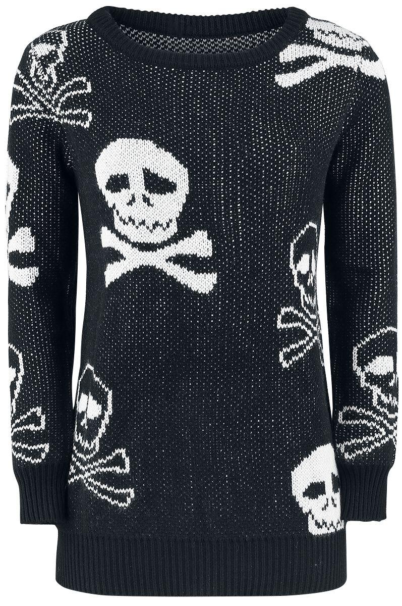 Image of   Fashion Victim Pirats Sweater Girlie sweatshirt sort