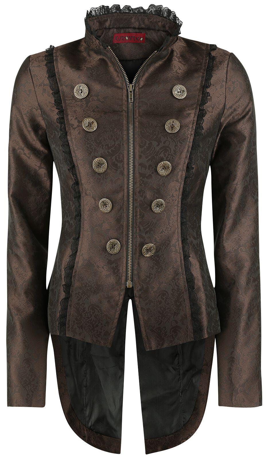 Marki - Kurtki - Kurtka damska Alcatraz Victorian Coat Kurtka damska brązowy/czarmy - 345896
