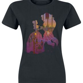 La Belle Et La Bête The Ball T-shirt Femme noir