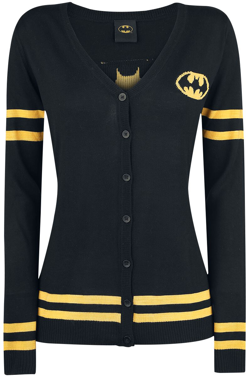 Image of   Batman Logo Pigecardigan sort