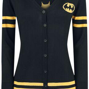 Batman Logo Cardigan pour Femme noir