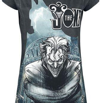 Batman Joker Arkham Asylum T-shirt Femme multicolore