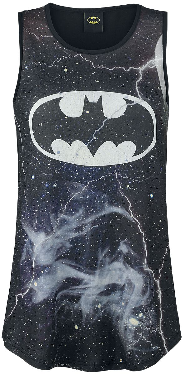 Image of   Batman Universe Girlie top multifarvet