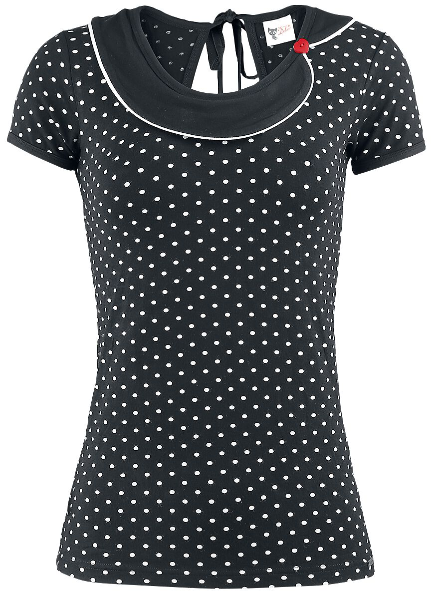 Marki - Koszulki - Koszulka damska Pussy Deluxe Best Collar Koszulka damska czarny - 346000