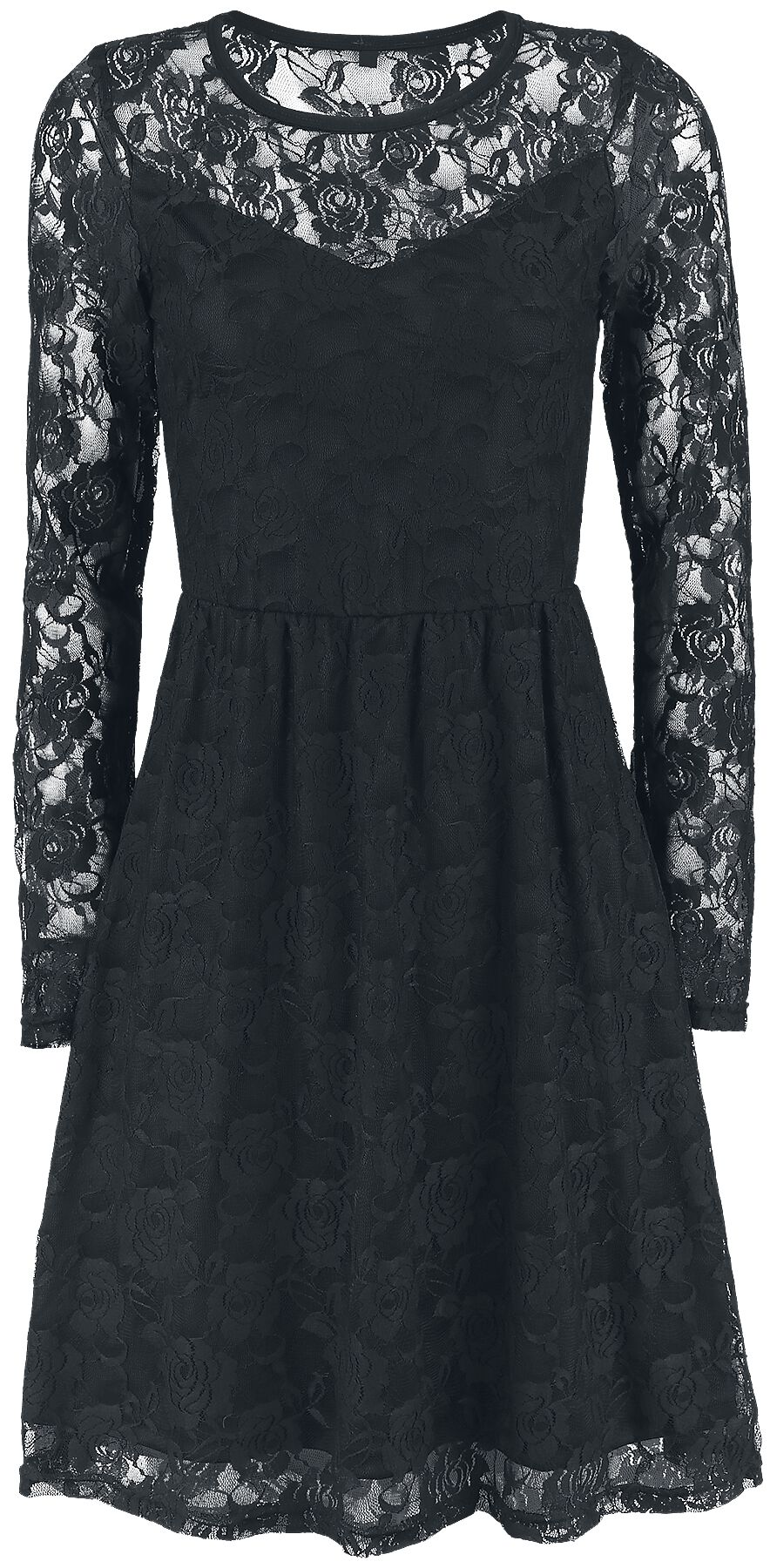 Image of   Forplay Lace Dress Kjole sort