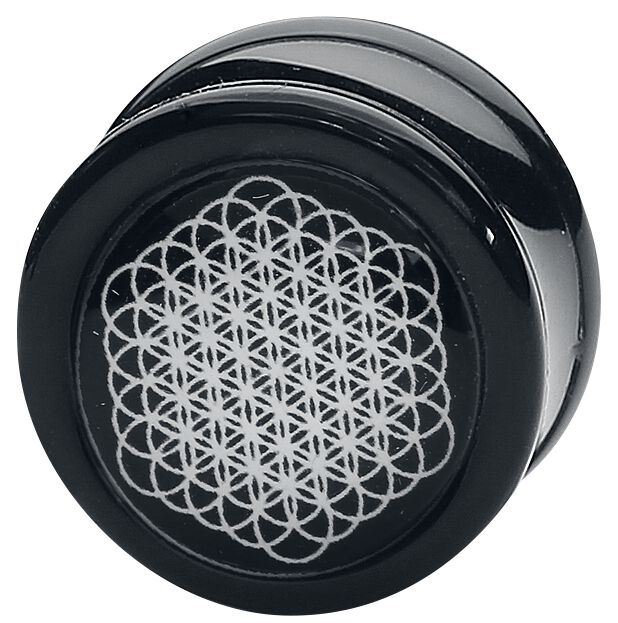 Image of   Bring Me The Horizon Sempiternal Plugs sort-hvid
