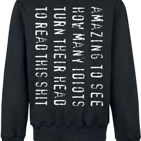 Amazing To See... Sweat-shirt noir