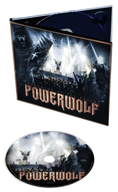 Image of   Powerwolf Preaching at the Breeze CD standard