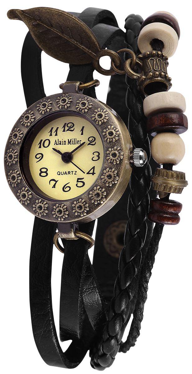 Uhren für Frauen - Alain Miller Native Vibe Armbanduhr schwarz  - Onlineshop EMP