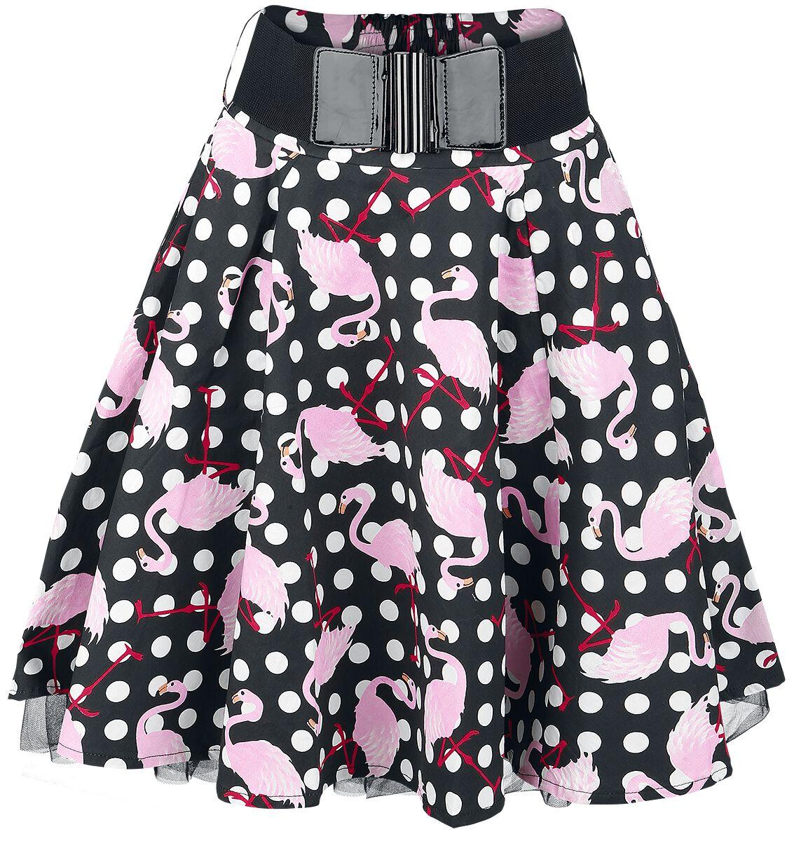Marki - Spódnice - Spódnica Mini Rockabella Polka Flamingo Spódnica Mini wielokolorowy - 346296