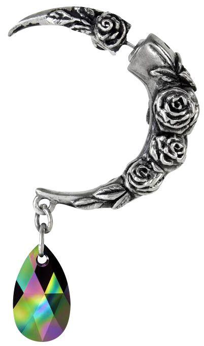 Ohrringe für Frauen - Alchemy Gothic Rosemoon Ohrstecker Standard  - Onlineshop EMP