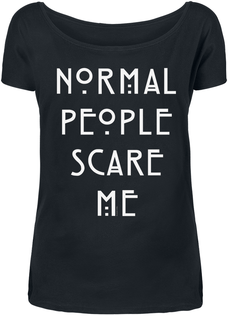 American Horror Story Normal People Koszulka damska czarny