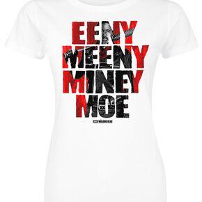 The Walking Dead Eeny Meeny Miney Moe T-shirt Femme blanc