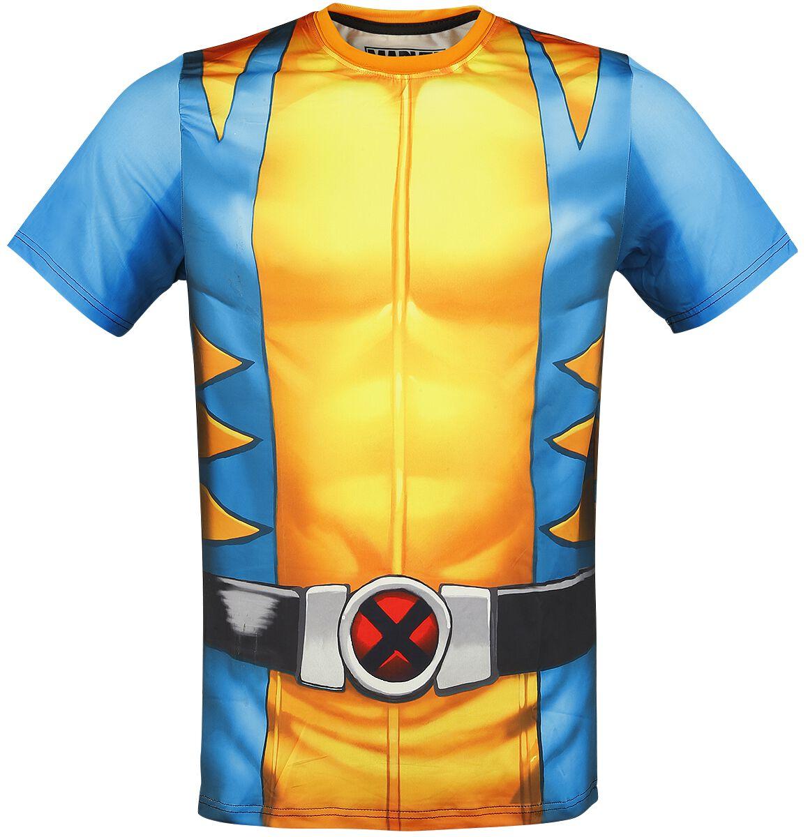 Merch dla Fanów - Koszulki - T-Shirt Wolverine Chest T-Shirt wielokolorowy - 346431