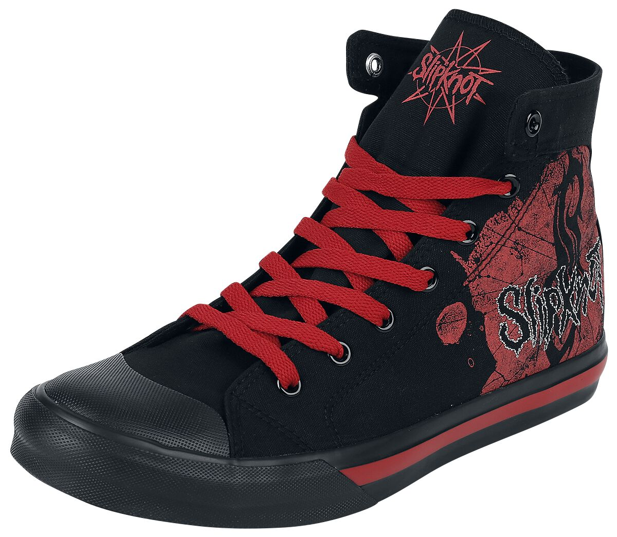 Image of   Slipknot Logo Sneakers sort