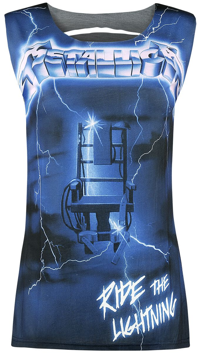 Image of   Metallica EMP Signature Collection Girlie top blå