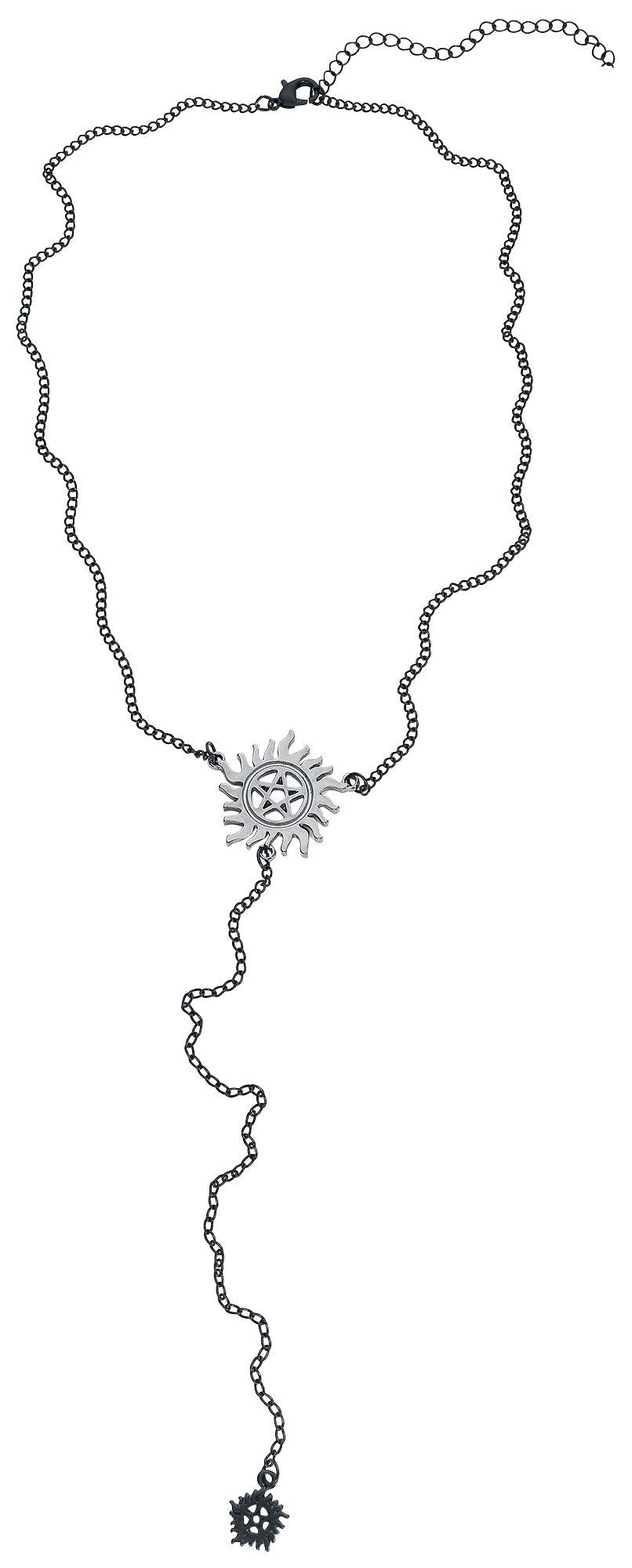 Ketten für Frauen - Supernatural Anti Possession Halskette silberfarben  - Onlineshop EMP