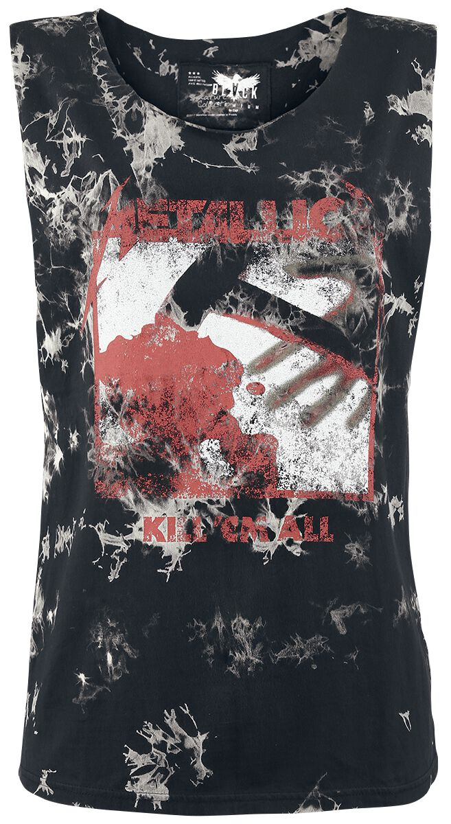 Image of   Metallica EMP Signature Collection Girlie top sort-grå