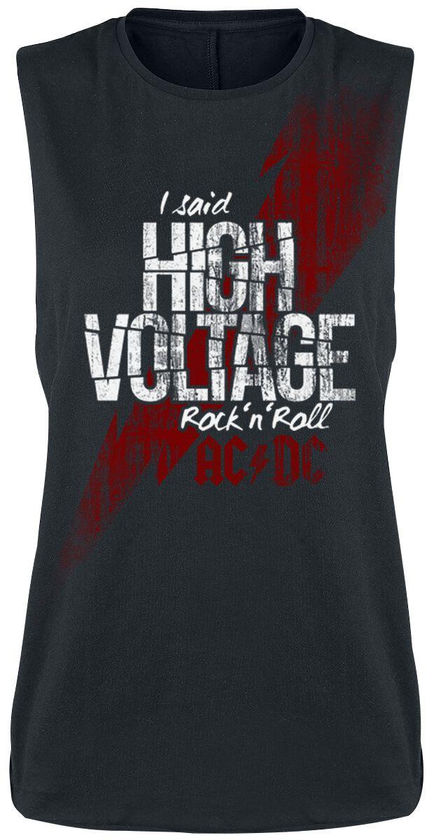 Image of   AC/DC High Voltage Girlie top sort