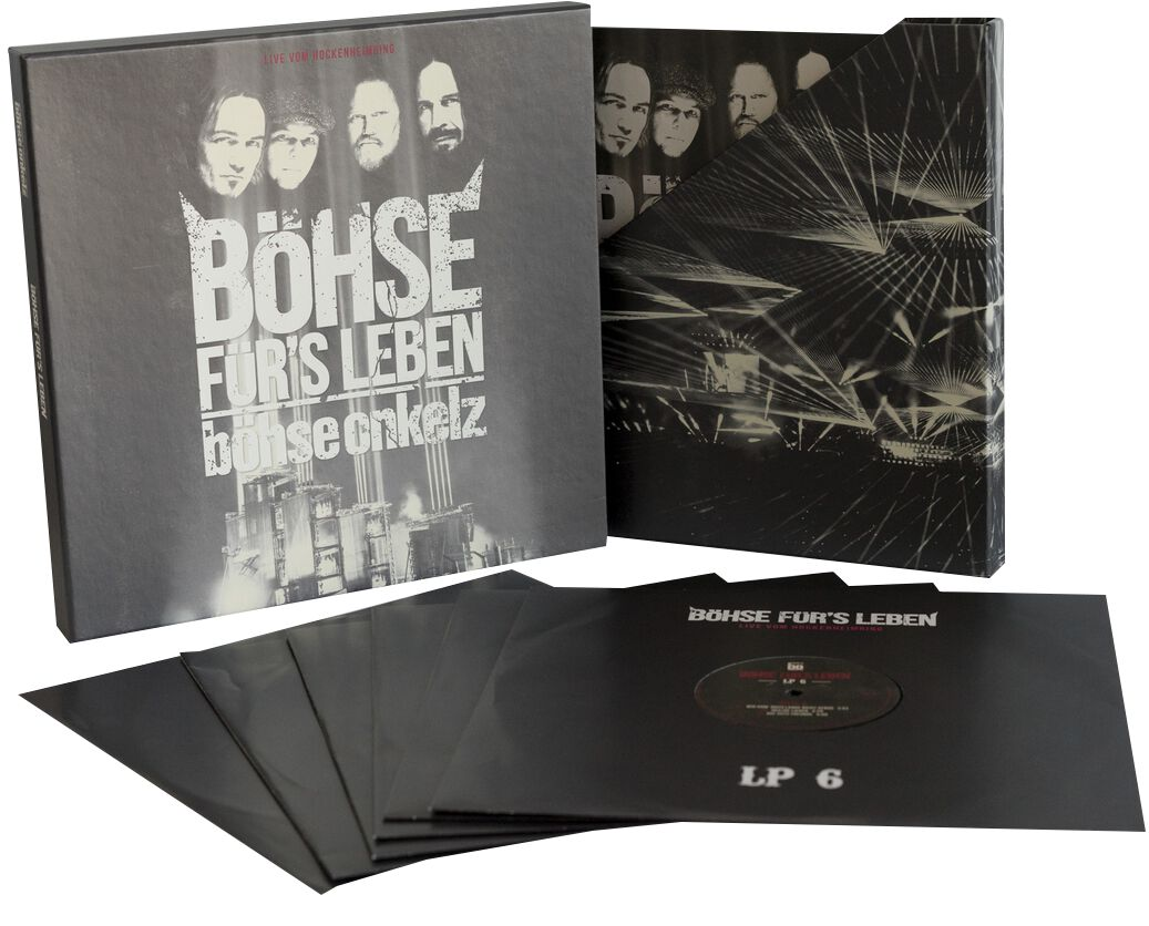 Image of   Böhse Onkelz Böhse für's Leben 6-LP BOX standard