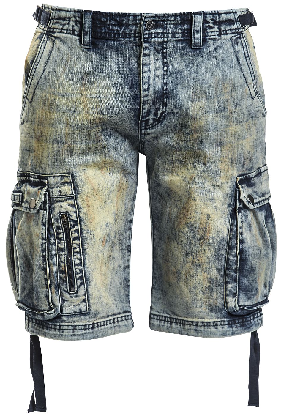 Image of   Black Premium by EMP Army Vintage Shorts Shorts blå