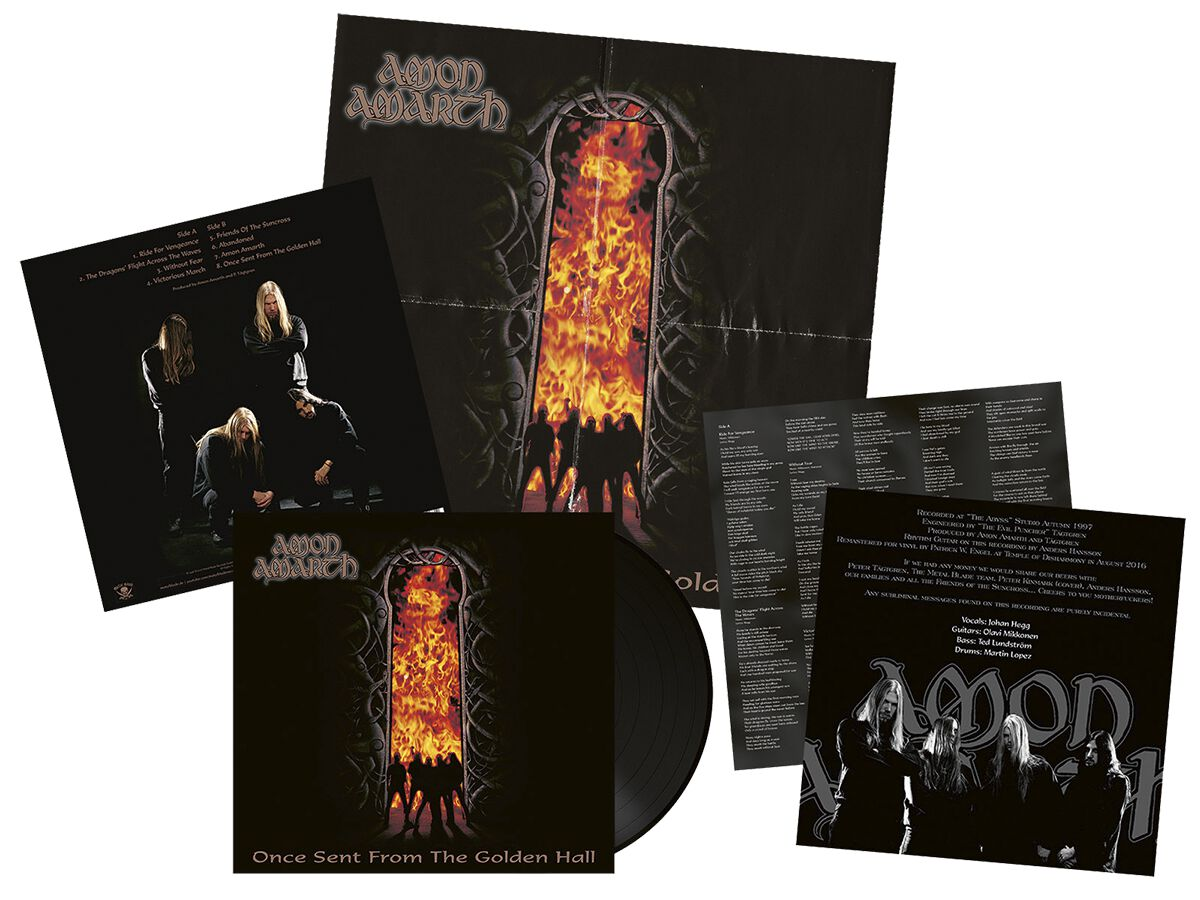 Image of   Amon Amarth Once sent from the golden hall LP standard