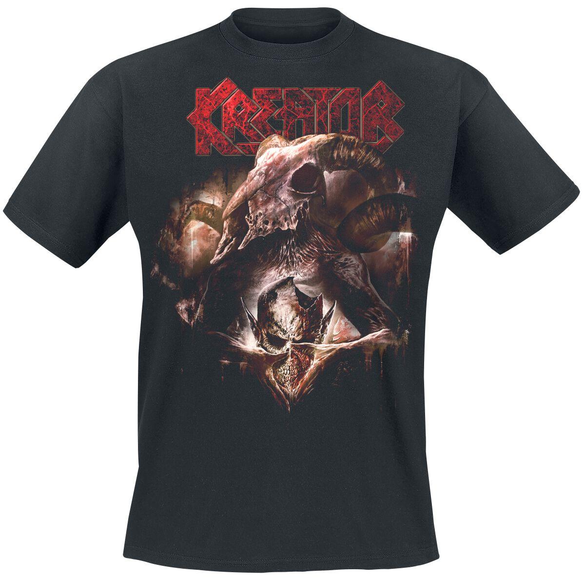 Zespoły - Koszulki - T-Shirt Kreator Gods Of Violence Tracklist T-Shirt czarny - 346712