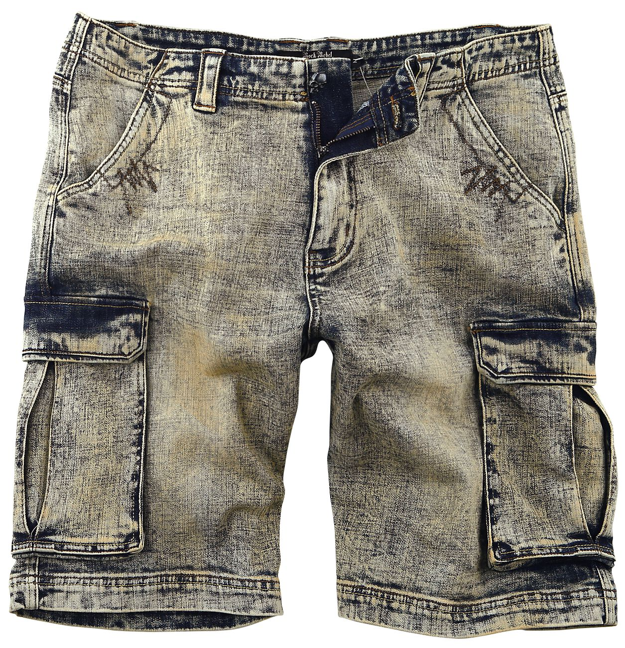 Rock Rebel by EMP Army Vintage Shorts Shorts blue