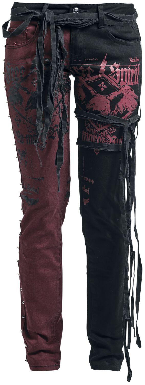 Rock Rebel by EMP Flying Skarlett Spodnie damskie czarny