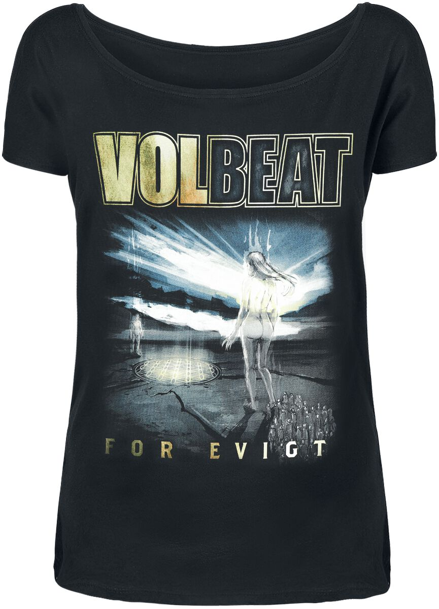Image of   Volbeat The Bliss Girlie trøje sort