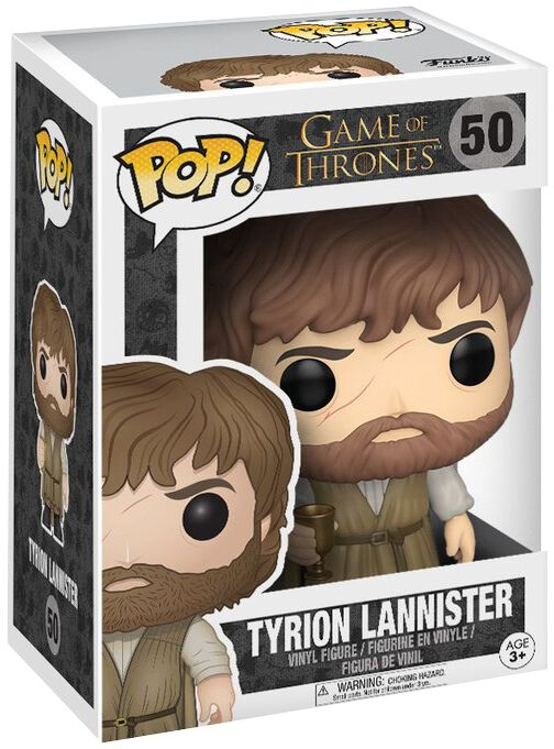 Image of   Game Of Thrones Tyrion Lannister - Vinyl Figure 50 Samlefigur Standard