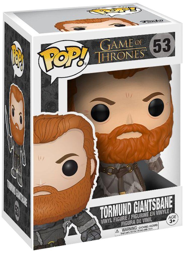 Image of   Game Of Thrones Tormund Giantsbane - Vinyl Figure 53 Samlefigur Standard