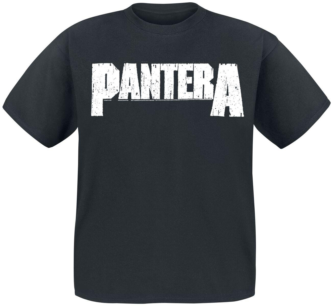Zespoły - Koszulki - T-Shirt Pantera Logo T-Shirt czarny - 347439