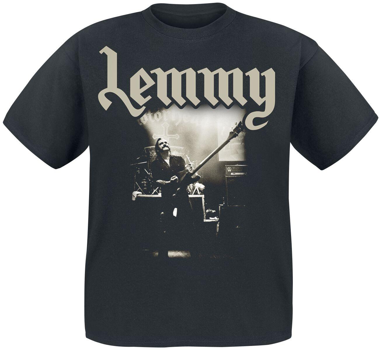 Motörhead Lemmy - Lived To Win T-Shirt schwarz