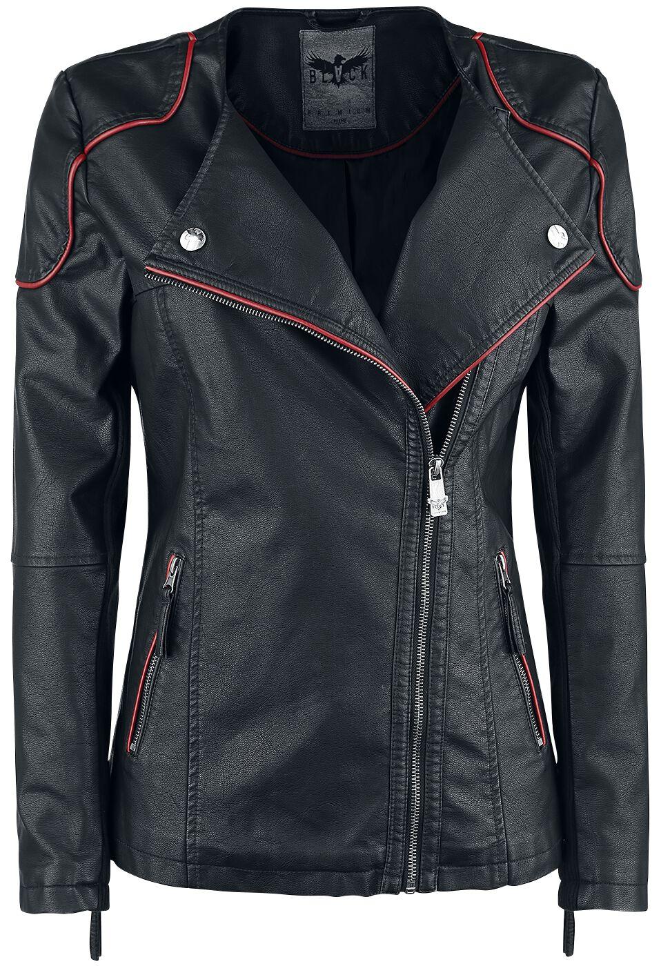 Image of   Black Premium by EMP Black For Good Girlie jakke sort