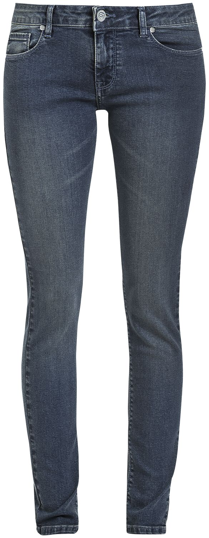 Image of   RED by EMP Decent Megan Girlie jeans blå