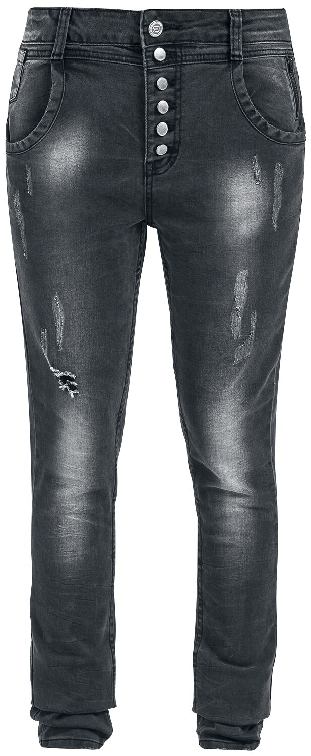 Image of   RED by EMP Deranged Tapered (Tapered Fit) Girlie jeans sort