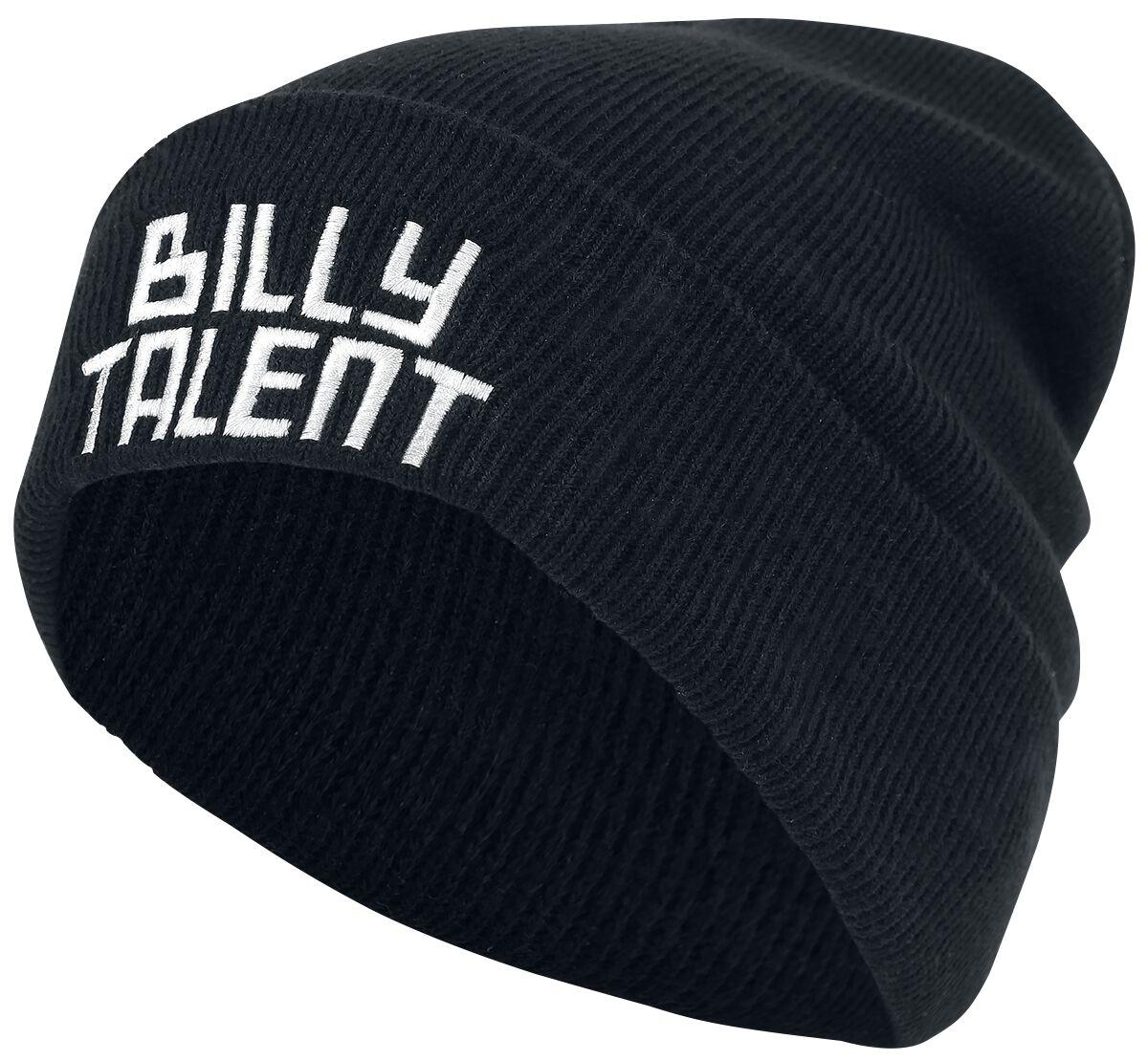 Zespoły - Czapki i Kapelusze - Beanie Billy Talent Logo Beanie czarny - 347690