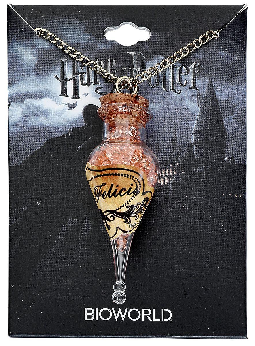 Image of   Harry Potter Flaske Halskæde guld
